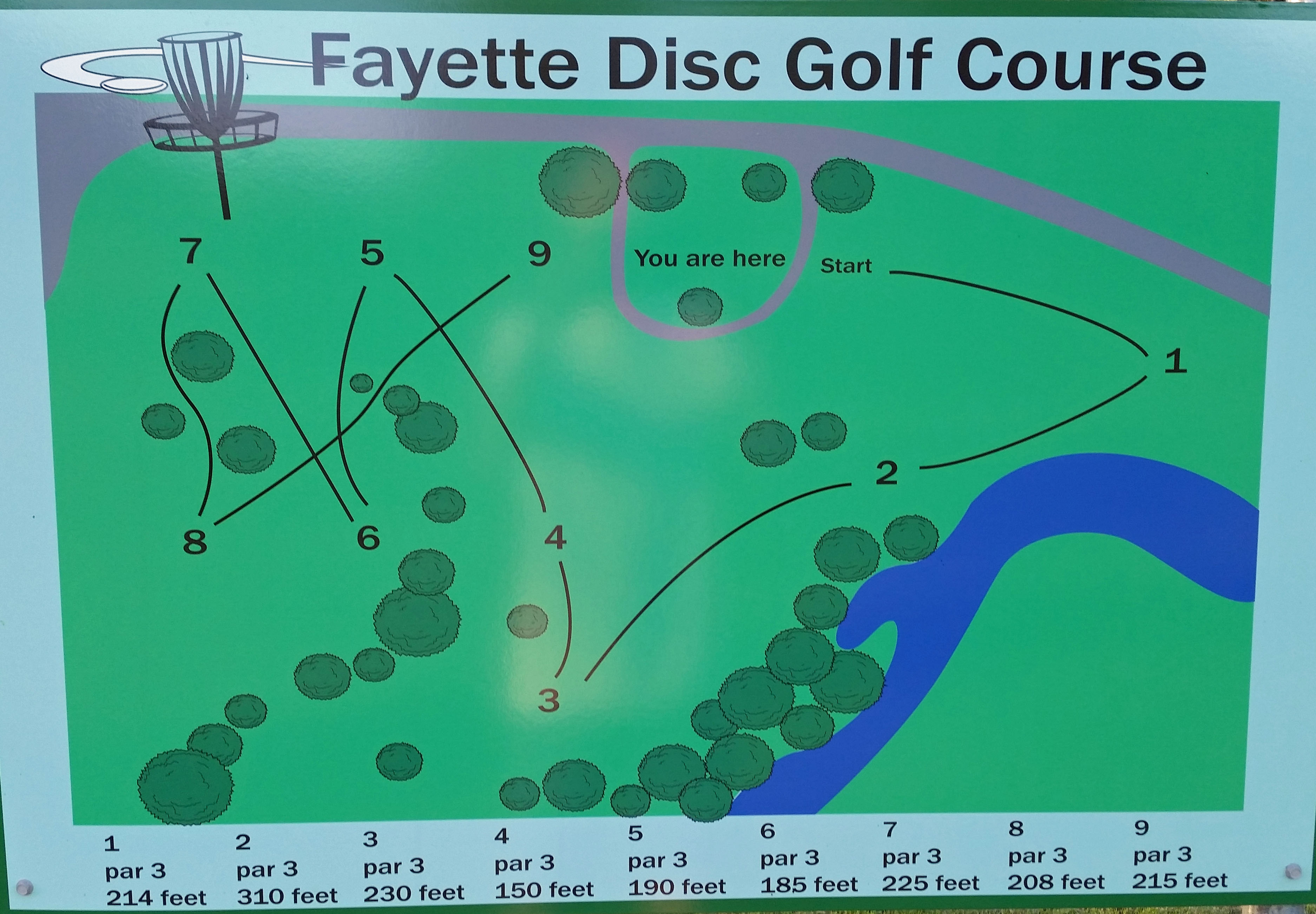 2016DiscGolfCourseSign